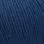 Пряжа для вязания Gazzal Organic Baby Cotton (Газзал Органик Беби Коттон) Цвет 437 темно синий
