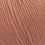 Пряжа для вязания Gazzal Organic Baby Cotton (Газзал Органик Беби Коттон) Цвет 438 темная пудра
