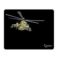 """GEMBIRD MP-GAME9 Коврик для мыши GEMBIRD MP-GAME9 """"Вертолет"""", ткань+вспененная резина, 250x200x3 мм, черный"""