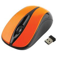 GEMBIRD MUSW-325-O Мышь беспроводная GEMBIRD MUSW-325, 2 кнопки + 1 колесо-кнопка, оптическая, оранжевая, MUSW-325-O