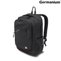 """GERMANIUM 226956 Рюкзак GERMANIUM """"S-09"""" универсальный, с отделением для ноутбука, уплотненная спинка, черный, 44х30х14 см, 226956"""