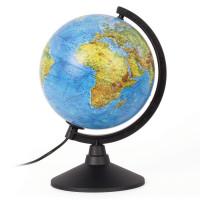 """Globen К012100009 Глобус физический GLOBEN """"Классик"""", диаметр 210 мм, с подсветкой, К012100009"""