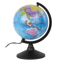 """Globen К012100010 Глобус политический GLOBEN """"Классик"""", диаметр 210 мм, с подсветкой, К012100010"""
