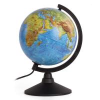 """Globen К012100089 Глобус физический/политический GLOBEN """"Классик"""", диаметр 210 мм, с подсветкой, К012100089"""