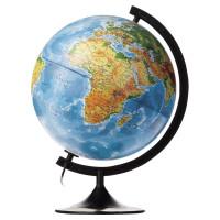 Globen К013200101 Глобус физический/политический Globen Классик, диаметр 320 мм, с подсветкой, К013200101
