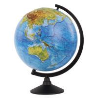 Globen К013200219 Глобус физический Globen Классик, диаметр 320 мм рельефный, К013200219