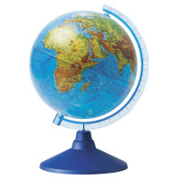 Globen Ке011500196 Глобус физический Globen Классик Евро, диаметр 150 мм, Ке011500196