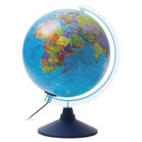 """Globen Ке012500190 Глобус политический GLOBEN """"Классик Евро"""", диаметр 250 мм, с подсветкой, Ке012500190"""