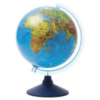 """Globen Ве012500257 Глобус физический/политический подсветка от батареек, GLOBEN """"Классик Евро"""", 250 мм, Ве012500257"""