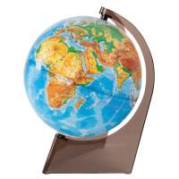 ГЛОБУСНЫЙ МИР 10275 Глобус физический, диаметр 210 мм, рельефный, 10275