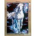Gobelin L, Diamant 14.767 Белый конь в сизой дымке
