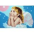 Gobelin L, Diamant 15.289 Мечтающий ангелочек. 2 картинки