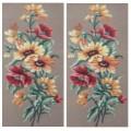 Gobelin L, Diamant 18.627 Маки и жёлтые цветы