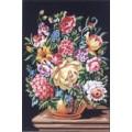Gobelin L, Diamant 40.113 Букет цветов на темном фоне