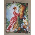 Gobelin L, Diamant D.476 Дама и верный пес