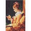 Gobelin L, Diamant D.477 Девушка с книгой