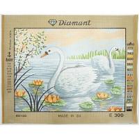 Gobelin L, Diamant E.300 Лебеди в кувшинках