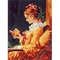Gobelin L, Diamant F.365 Дама с томиком стихов