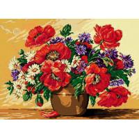Goblenset 209 Ваза с летними цветами