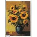 Goblenset 212 Ваза с подсолнухами (Vase with sun flowers)