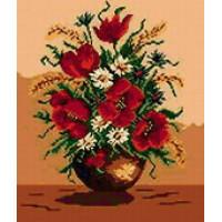 Goblenset 355 Икебана с маками (Poppy ikebana)