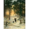 Goblenset 704 Зима в сосновом бору