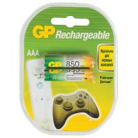 GP 85AAAHC-2DECRC2 Батарейки аккумуляторные GP, AAA, Ni-Mh, 850 mAh, комплект 2 шт., в блистере, 85AAAHC-2DECRC2