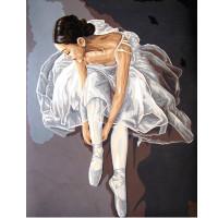 "Grafitec серия 11.000 Канва/ткань с рисунком ""Grafitec"" серия 11.000 60 см х 50 см 11.569 Балерина"