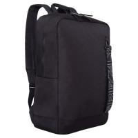 GRIZZLY RQ-013-5/1 Рюкзак GRIZZLY деловой, 1 отделение, карман для ноутбука, черный, 42x28x12 см, RQ-013-5/1