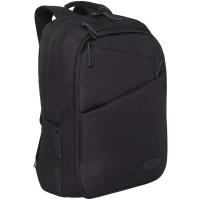 GRIZZLY RQ-016-1/2 Рюкзак GRIZZLY универсальный, карман для ноутбука, USB-порт, черный, 46x32х14 см, RQ-016-1/2