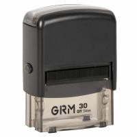 GRM 116000040 Штамп самонаборный 5-строчный, оттиск 47х18 мм синий, без рамки, GRM 30 DIY, КАССЫ В КОМПЛЕКТЕ, 116000040