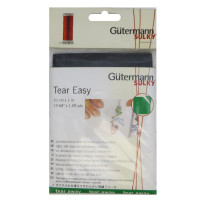 Guetermann 710261 Тонкая прокладка(стабилизатор)-без клеевого покрытия Gutermann цвет :Черный