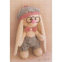 """Happy Hands МЗ-07 Набор для изготовления текстильной игрушки """"Зайка Бантик"""""""