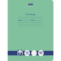 "HATBER 12Т5A1_23630 Тетрадь 12 л., HATBER Premium, клетка, обложка картон, ""Панда"", 12Т5A1_23630 (упаковка 5 шт)"
