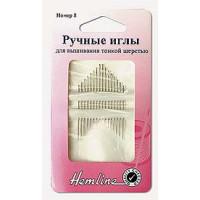 Hemline 200.8 Иглы ручные  для вышивания тонкой шерстью N8