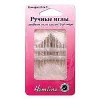 Hemline 201.39 Иглы ручные  универсальные N3-9