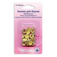 Hemline 440.GD Кнопки для блузок (золото)