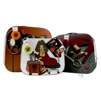 Hemline Cундучок для швейных принадлежностей набор из 3-х чемод. Cундучок для швейных принадлежностей набор из 3-х чемод.