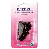Hemline Клепки «Hemline» 467.B, бронза 20 шт. в блистере Клепки «Hemline» 467.B, бронза 20 шт. в блистере