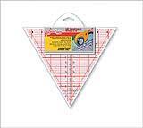 "Hemline Линейка треугольник ""Hemline"" NL4174   60 град., 8""Размер: 20,32 х 23,46 см Линейка треугольник ""Hemline"" NL4174   60 град., 8""Размер: 20,32 х 23,46 см"