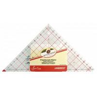 "Hemline NL4204 Линейка-треугольник, 7 1/2"" X 7 7/8"""