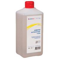 ХИМИТЕК 10305 Антисептик-гель для рук спиртосодержащий (60%) 1 л ХИМИТЕК АНТИСЕПТИК-ГЕЛЬ, дезинфицирующий, флип-топ, 10305