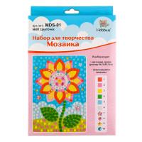 """Hobbius MDS-01 """"Hobbius"""" MDS-01 Мозаика 16.5 x 23.5 см  №01 Цветочек"""