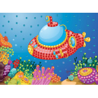 """Hobbius MDS-05 """"Hobbius"""" MDS-05 Мозаика 19.5 x 26.5 см №07 Подводная лодка"""