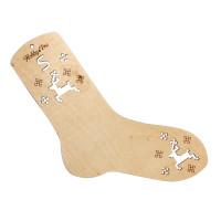 Hobby&Pro АРС-14108-1-АРС0001212145 НВ-003 Блокатор-шаблон для вязания носка S (17 см по стельке), фанера Hobby&Pro