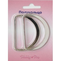 Hobby&Pro  Полукольцо литое 50 мм (никель)