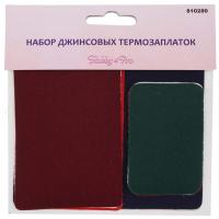 Hobby&Pro 7712823 Набор джинсовых термозаплаток 810282 Hobby & Pro 18 шт/упак. цветные