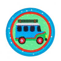 "Hobby&Pro Термоаппликация Термоаппликация Hobby&Pro basic  ""Автобус"", 5 см."