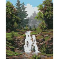 Hobruk  558507 HB005 Набор для рисования по номерам ' Водопад ' 40*50см