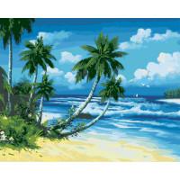 Hobruk  558892 HS0058 Набор для рисования по номерам 'Солнечный берег' 40*50см